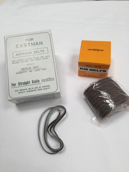 Bande Emeri pour ciseaux verticaux (KM, Eastman, Etwa..)