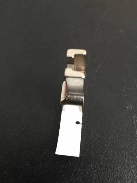 Pied téflon fermeture à glissière à droite