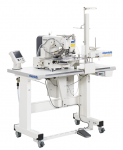 Machine plisseuse avec alimentation automatique des crochets